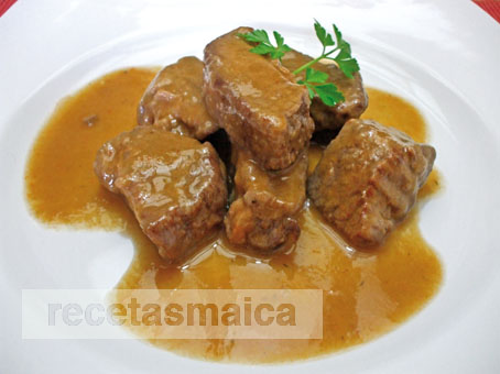 Estofat de vedella amb verdures receptes maica - Vedella amb bolets olla express ...
